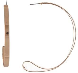 BaubleBar Musette 70mm Hoop Earrings