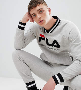 Fila retro track sweatshirt in gray