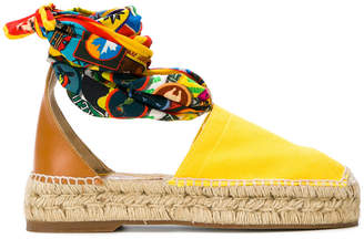 DSQUARED2 two-tone espadrilles