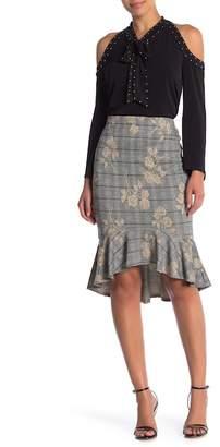 ECI Plaid Ruffle Skirt