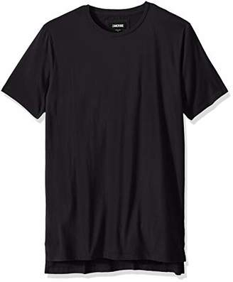 Zanerobe Men's Elongated Split Side Flintlock Short Sleeve Tee Shirt