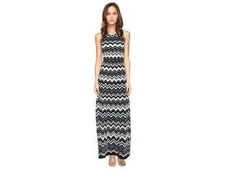 M Missoni Lurex Zigzag Maxi Dress Women's Dress