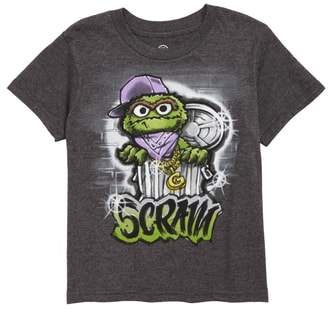 Mighty Fine Oscar Scram Graphic T-Shirt