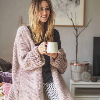 Lauren Aston Designs Dreamy Oversized Cardigan Knitting Kit