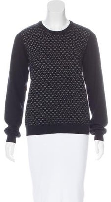 Boy. by Band of Outsiders Patterned Cashmere Sweater $75 thestylecure.com