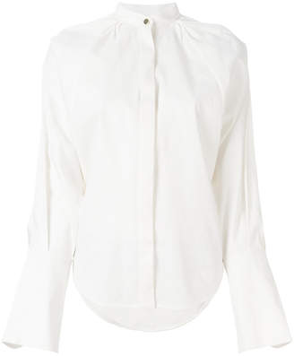 Petar Petrov band collar shirt