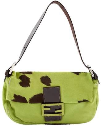Fendi Baguette pony-style calfskin bag