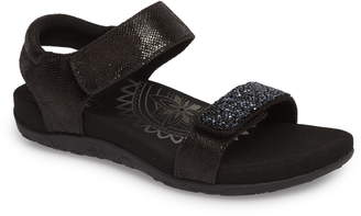 Aetrex Maria Embellished Sandal