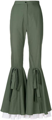 Milla flared trousers
