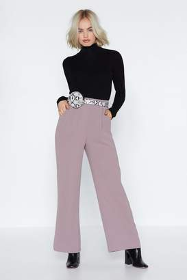 Nasty Gal Ease Off Oversized Pants