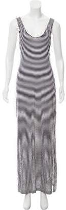 Tibi Striped Maxi Dress
