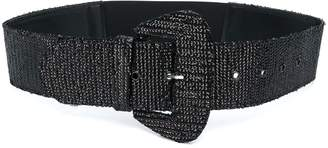 Aniye By sequin embroidered belt