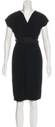 Max Mara Sleeveless Midi Dress