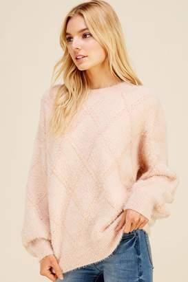 Pinch Ballet Sweater Blush