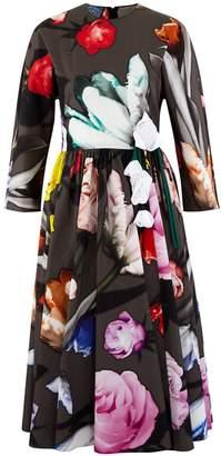 Prada Long flowered dress