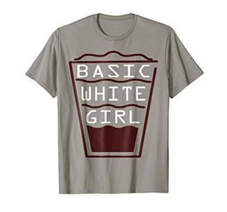 Funny Coffee Basic White Girl T-Shirt