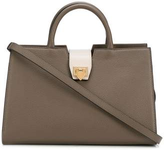 Philippe Model square shaped bag