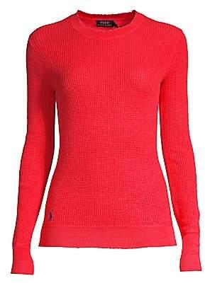 Polo Ralph Lauren Women's Long-Sleeve Cashmere Knit Sweater