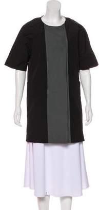 Marni Short Sleeve Zip-Up Coat