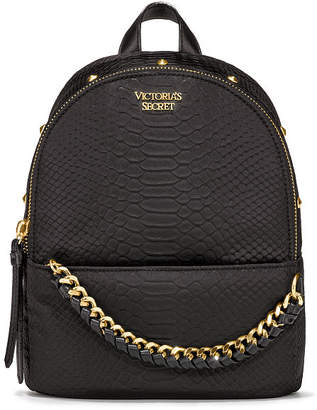 Victoria's Secret Victorias Secret Nylon Python Stud Small City Backpack
