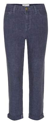 Current/Elliott Fling linen trousers
