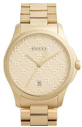 Gucci Round Bracelet Watch, 38mm