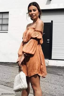 Forever 21 Contemporary Satin Dress