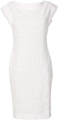 Moschino cut-out detail pencil dress