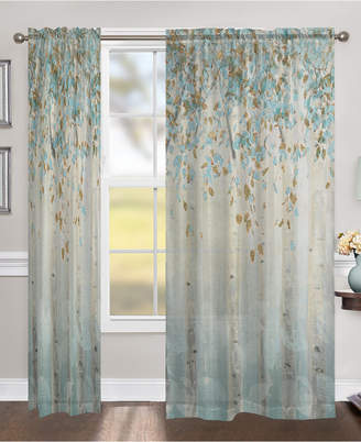 """Laural Home Dream Forest 84"""" Sheer Window Panel"""