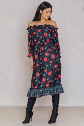 Endless Rose Open Shoulder Dress