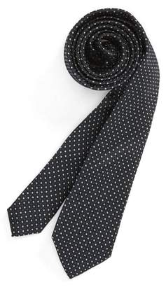 Nordstrom Diamonds & Dots Print Silk Tie
