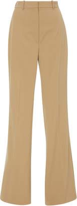 Michael Kors Flare High Waist Wool-Blend Pants