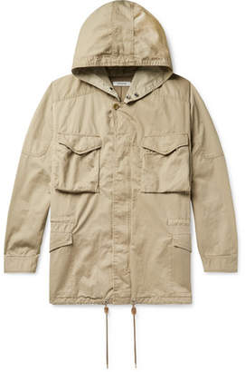 Nonnative + Liberty London Hunter Cotton And Linen-Blend Twill Hooded Field Jacket