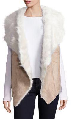 Design History Faux Shearling Vest $175 thestylecure.com