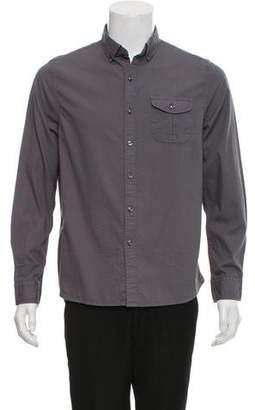 Michael Bastian Printed Long-Sleeve Dress Shirt