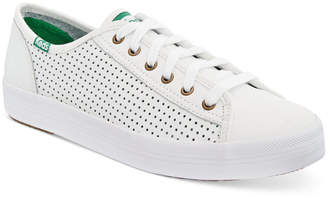Keds Women's Kickstart Perforated Sneakers $60 thestylecure.com