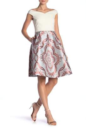 Ted Baker Versailles Jacquard Skirt Dress