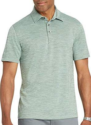 Van Heusen Men's Size Big and Tall Air Birdseye Short Sleeve Polo