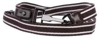Max Mara Woven Skinny Belt w/ Tags