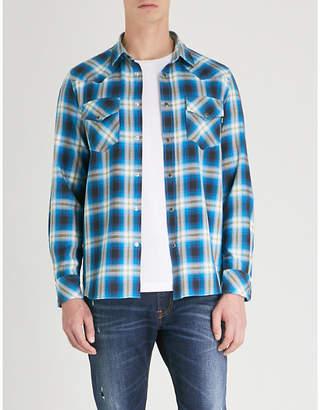 Diesel S-East plaid regular-fit cotton shirt