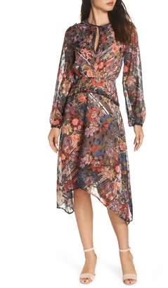 Foxiedox Retro Flowers Midi Dress