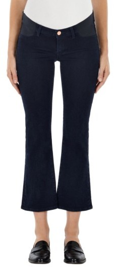 J BrandWomen's J Brand Mama J Selena Crop Bootcut Maternity Jeans