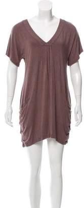 Vivienne Tam Short Sleeve Mini Dress