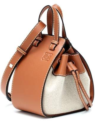 Loewe Mini Hammock leather crossbody bag