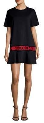 Opening Ceremony Logo Flounce T-Shirt Dress