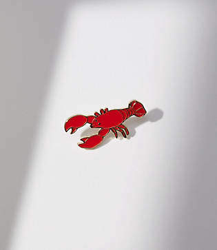 LOFT Lobster Enamel Pin