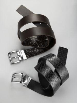 City Style Reversible Croc Belt