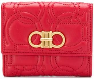 Salvatore Ferragamo quilted compact wallet