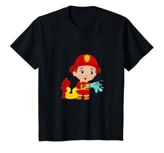 Junior Firefighter Firefighting Gifts & Shirts Youth Junior Firefighter Firefighting Battalion Chief Gift T-Shirt