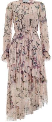 Zimmermann Maples Tier Long Dress